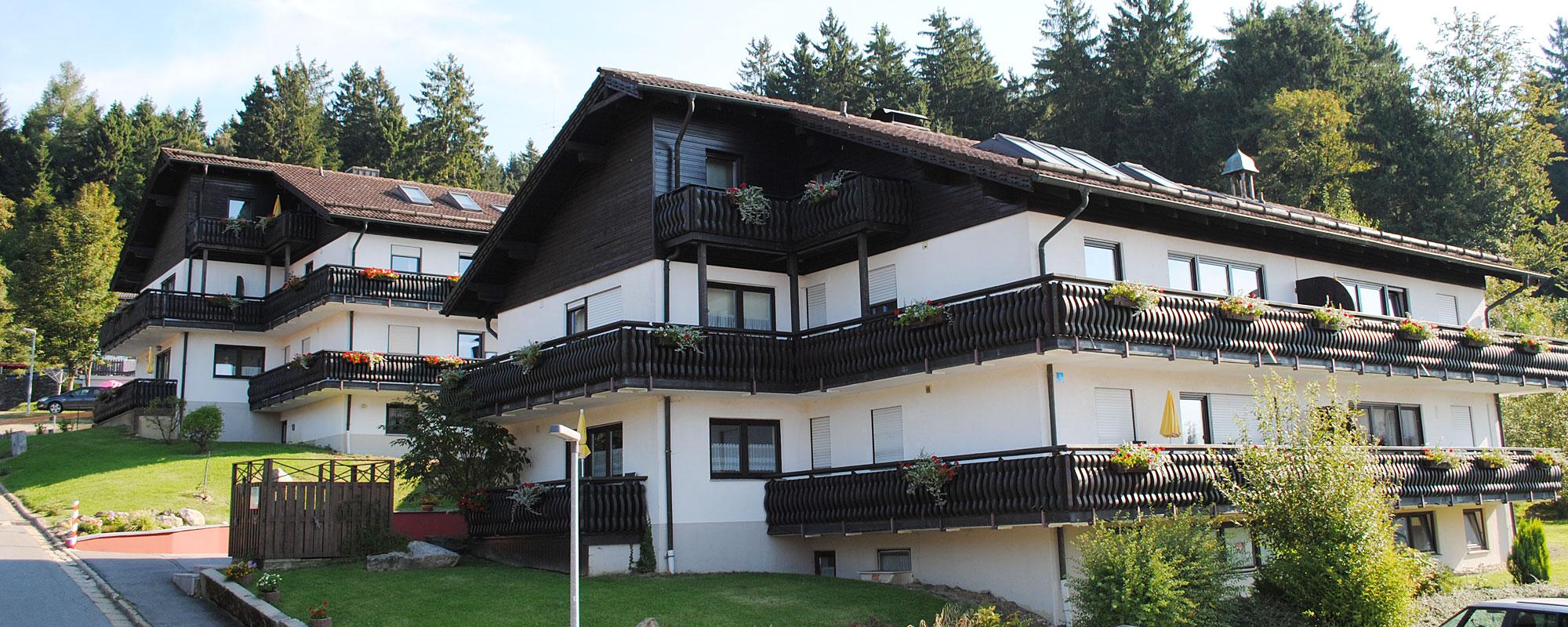 Ferienwohnungen - Dachstudios - Ferienhaus Sankt Englmar